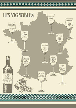 French Wine Map 20