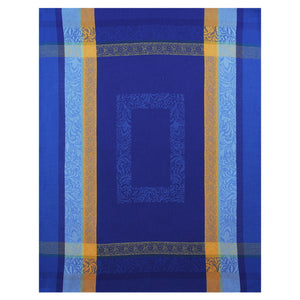 "Bargeme Blue 20""x28"" Jacquard Dishtowel"