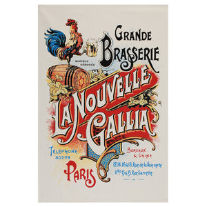 "La Nouvelle Gallia 19""x28"" Cotton French Image Dishtowel"