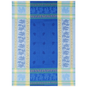 "Grapes Blue 20""x28"" Jacquard Dishtowel"