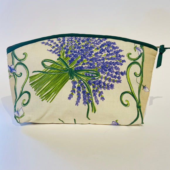 Lavender Bunch Natural Cotton Makeup Bags 10
