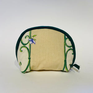 "Lavender Bunch Natural Cotton Makeup Bags 6""x5"""