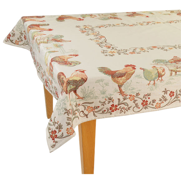 "La Ferme Jacquard Tablecloth (63""x137"" only)"