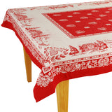 Megeve Jacquard Tablecloth - choose your size