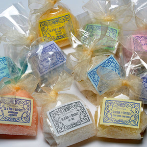 French Bath Salts in bag- Pick your scent
