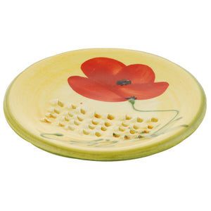 Poppy Ceramic Garlic Grater