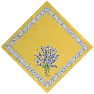 Valensole Yellow Cotton Napkin