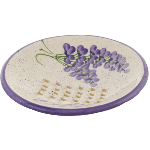 Lavender Ceramic Garlic Grater
