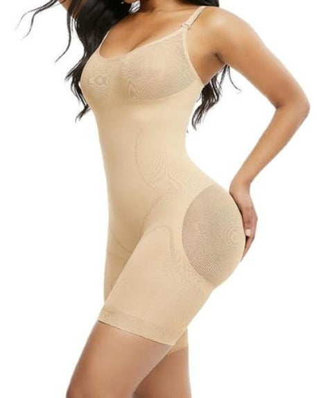 Seamless Butt-lifter Bodysuit