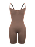 Chocolate Seamless Bodysuit w/bra