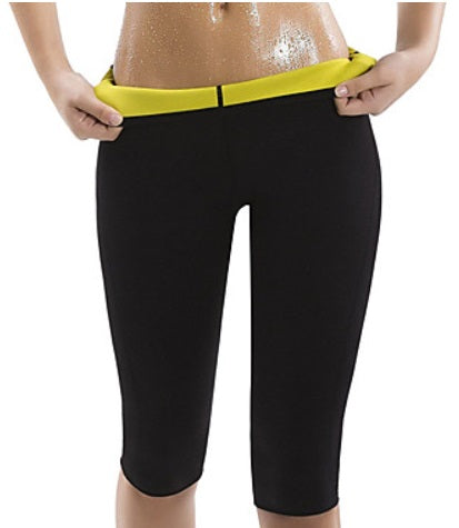 Neoprene Stretchy Yoga and Gym Capri Pants