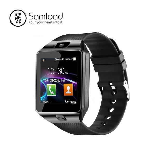 4fc1f5d86 Samload Bluetooth Smart Watch DZ09 Sport Smart Wrist Support SIM SD Card  with Camera for Android