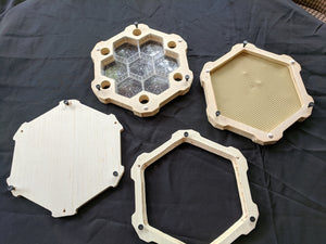 Hexagonal Smart Frames