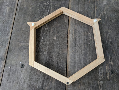 Hexagonal Frames For Comb Honey Cups