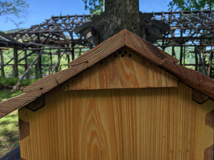 Write-on Gabled Hive Roofs