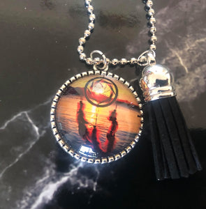 Medium Pendants Necklace - Sunrise