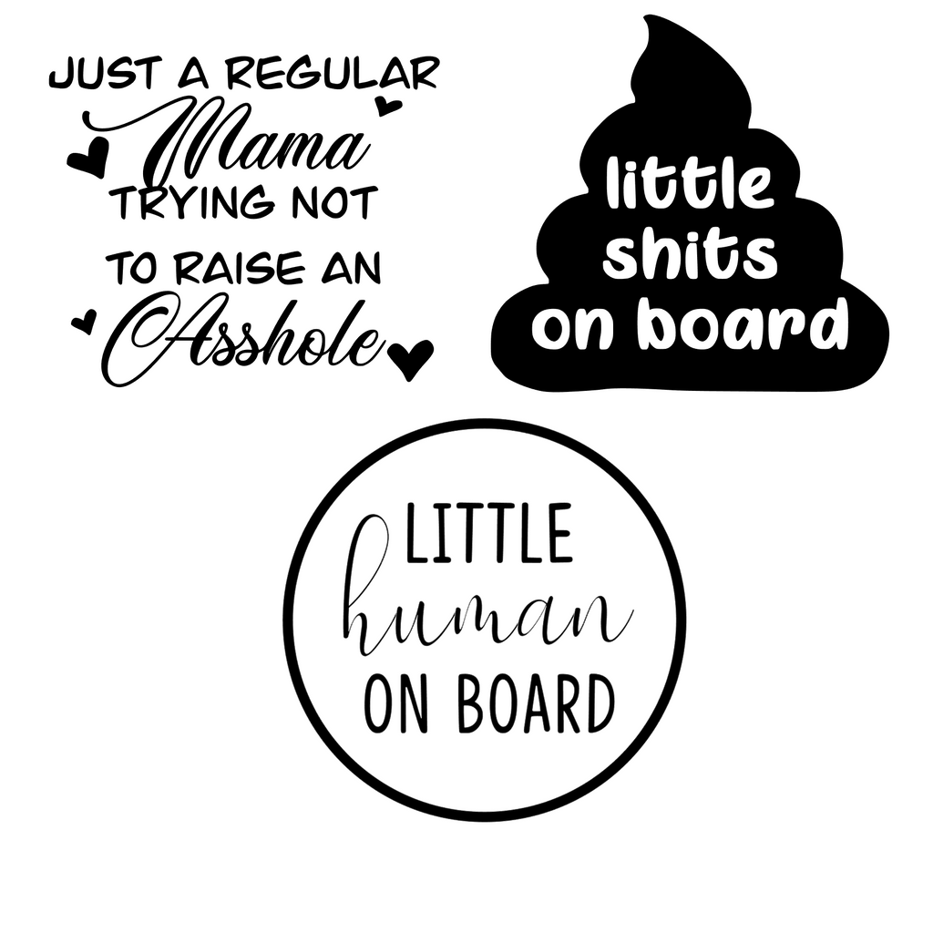 Car Decals - Kids