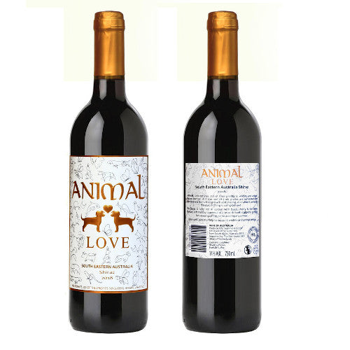 ANIMAL Love Shiraz 750ML
