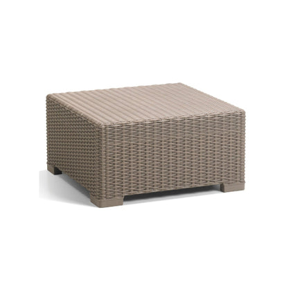 Coffee Table Synthetic Rattan Style