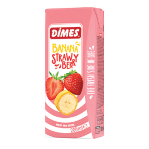 Banana Strawberry Juice 200ML