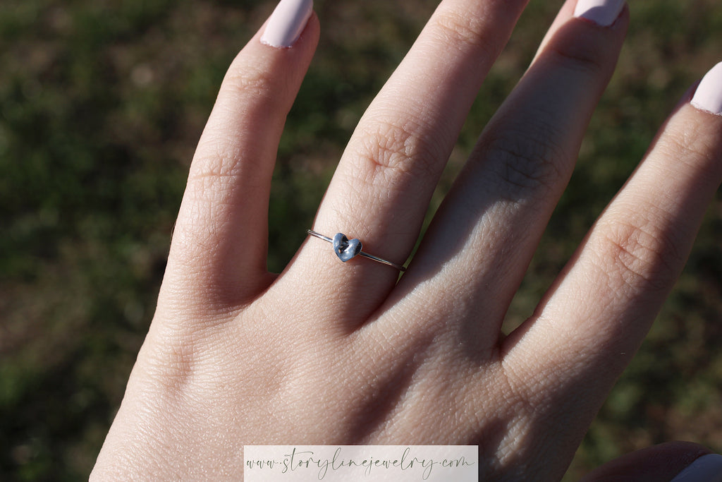Ever & Evermore Initial Ring