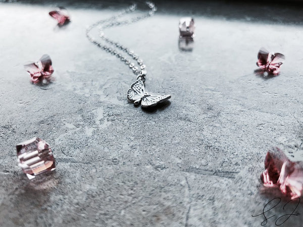 The Delicate Butterfly Necklace