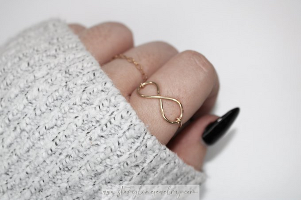 The Infinity Ring {Gold Filled}