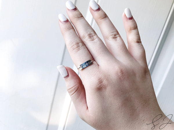 The 'Lover' Plate Ring