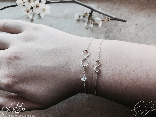 The Diamond Infinity Bracelet