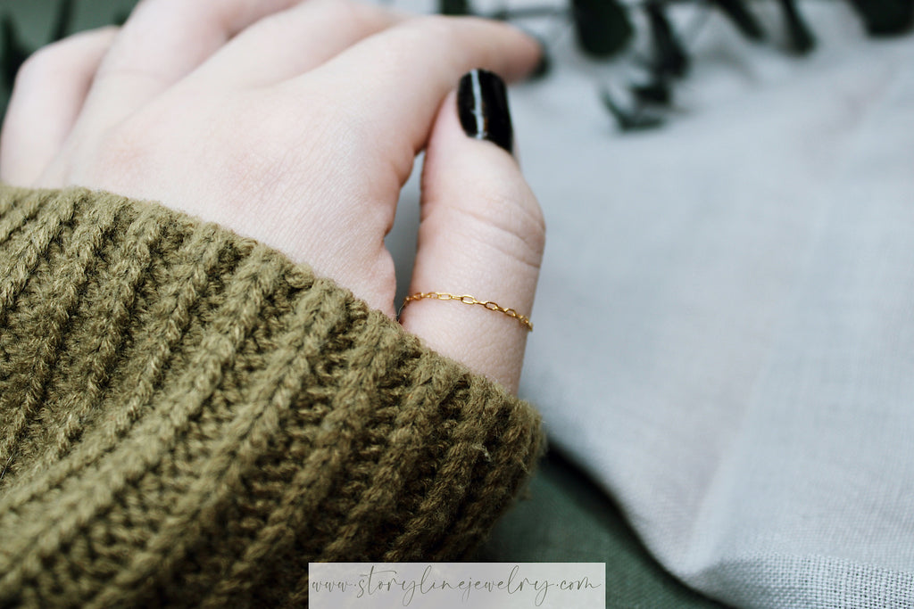 "The ""Thread of Gold"" Ring"