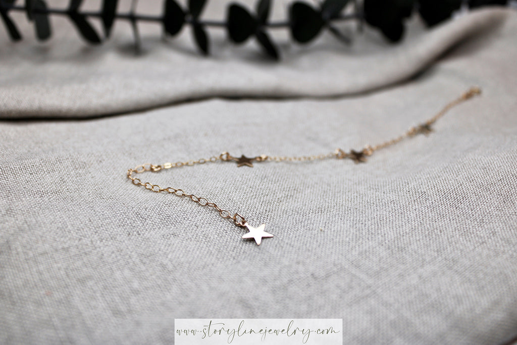"The ""You Drew Stars"" Bracelet {gold-filled}"