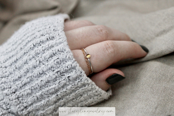The Fearless Stack Ring {Eras Collection}