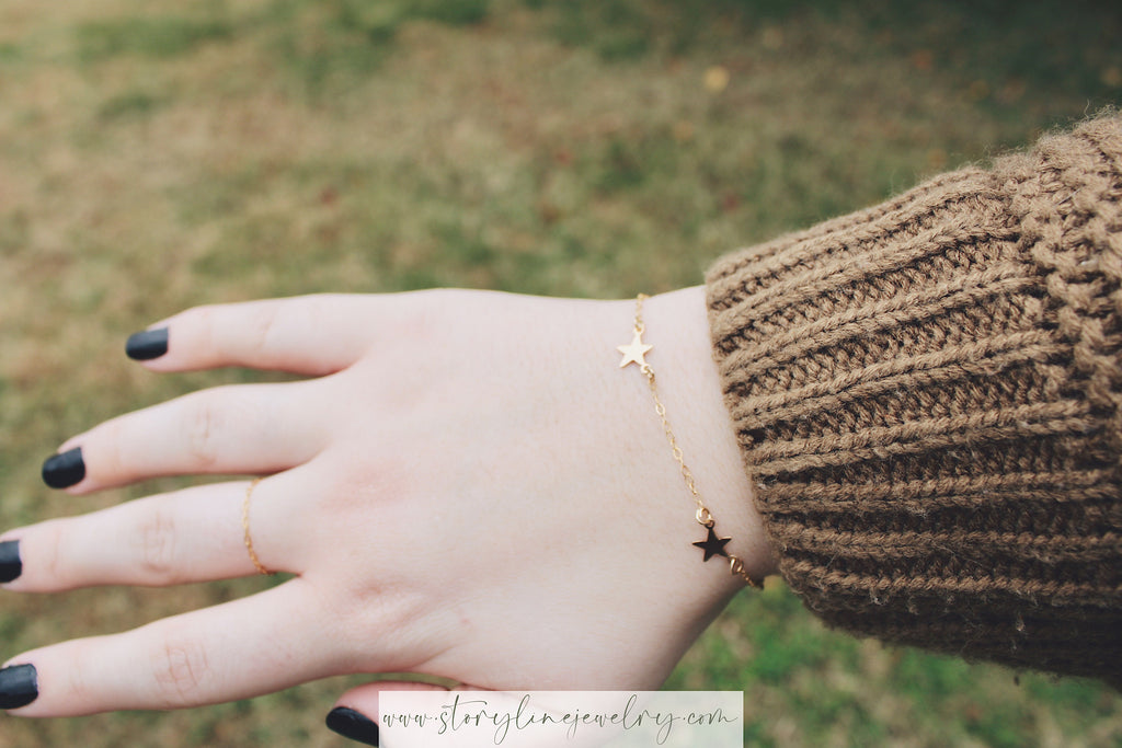 "The ""You Drew Stars"" Bracelet {sterling silver}"