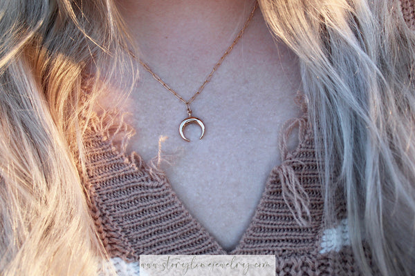 The Dynasty Necklace {gold filled}