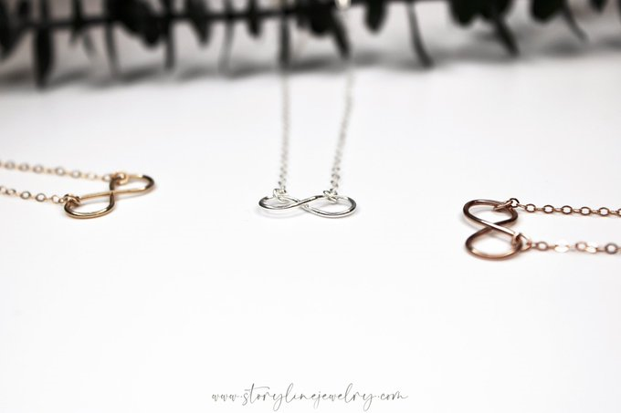 The Infinity Neckace {Gold Filled}