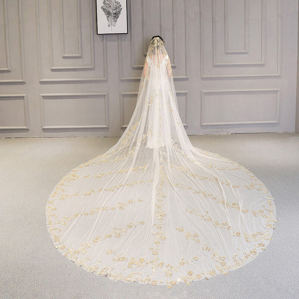 Extra Long Cathedral Length Veil