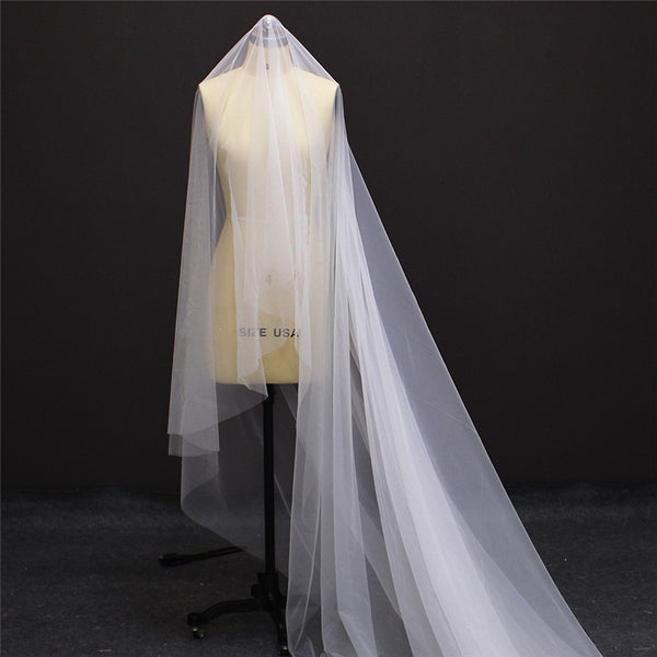Double Veil Wedding