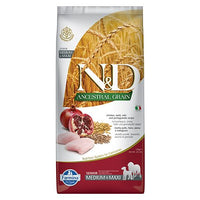 Farmina N&D Ancestral Hund Senior Medium/Maxi mit Huhn & Granatapfel - 4yourdog
