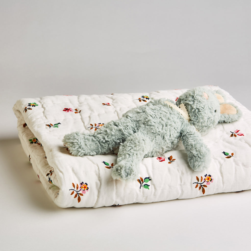 FLORAL SPRIGS BABY QUILT