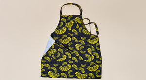 GOLD LEAVES CHEF APRON