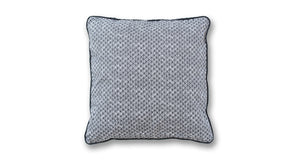 Gray Squares Throw Pillow