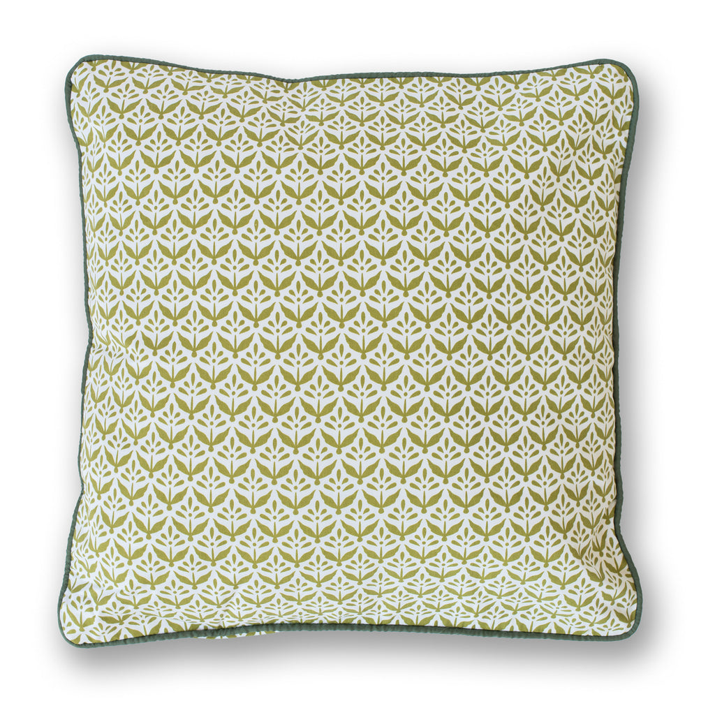 Olive Plants Throw Pillow