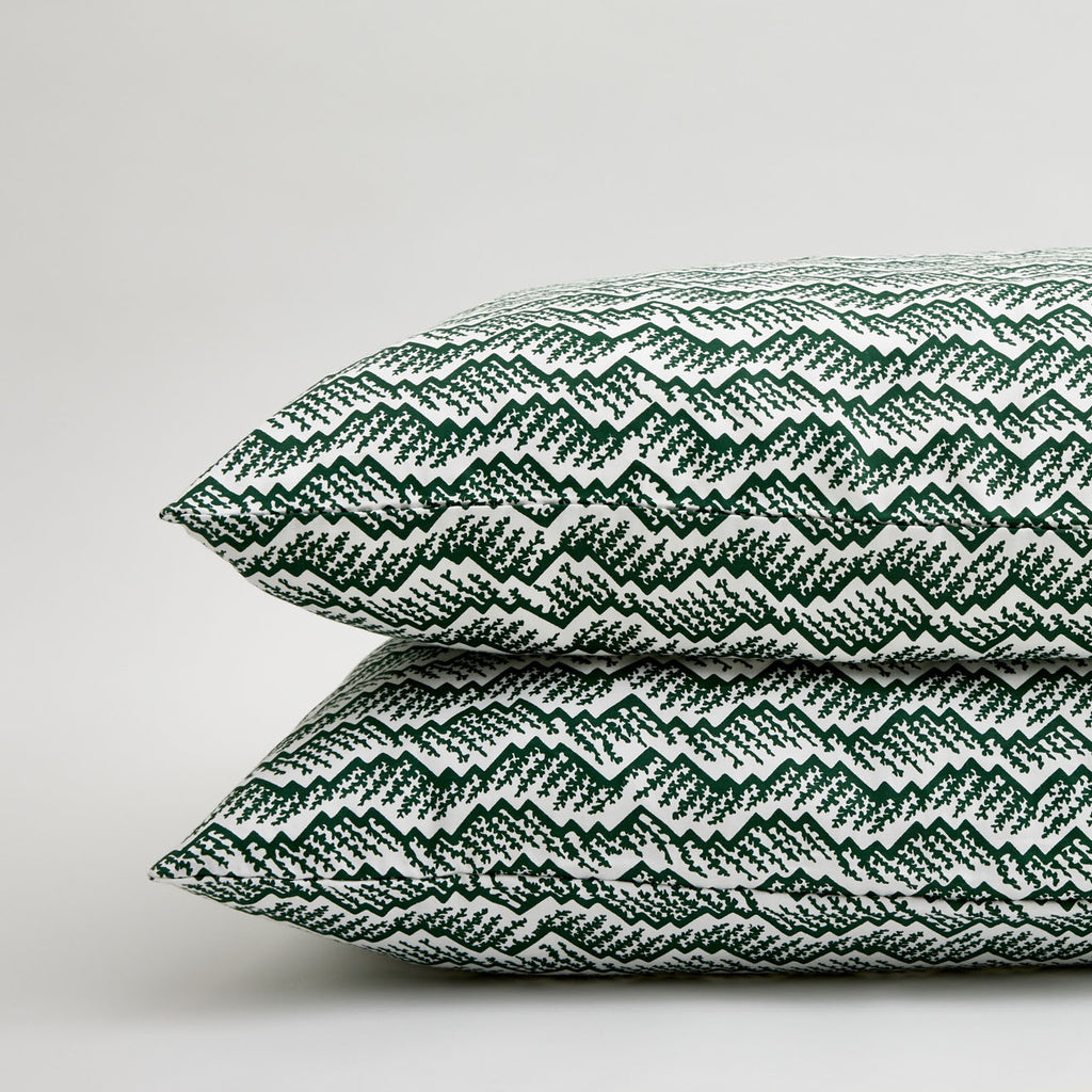 GREEN PEAKS PILLOWCASE