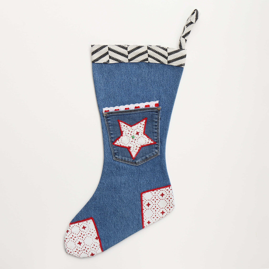 Red Star Stocking