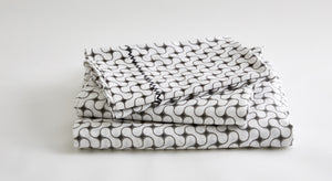 GRAY LATTICE SHEET SET