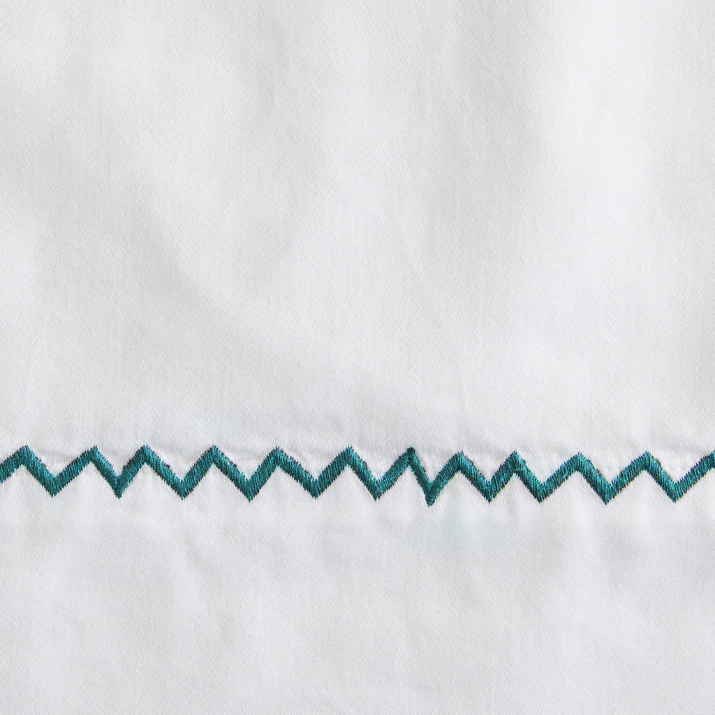 Teal Zigzag Swatch