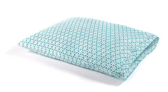 Teal Circles Pillow Case Set