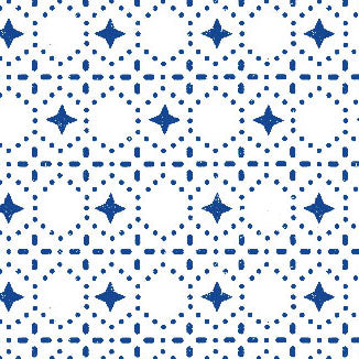 Blue Dots Swatch