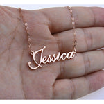 Personalized Custom Name Pendant Necklace