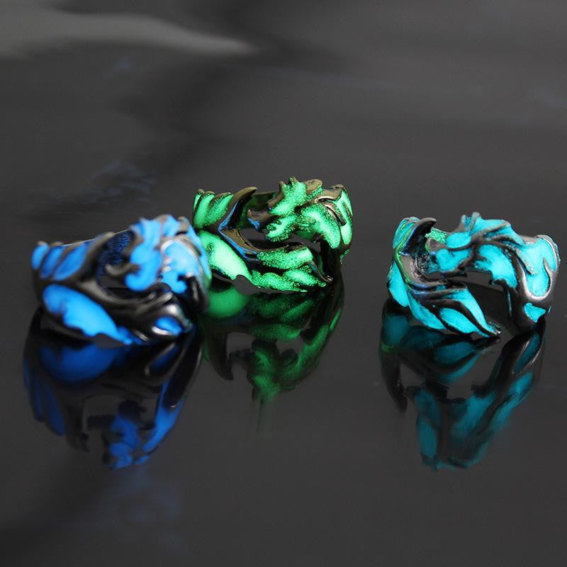 zeevera - Luminous Unisex Dragon Ring